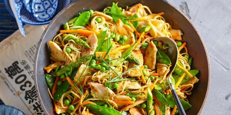 Nos recettes de poêlées : un plat complet, facile et rapide