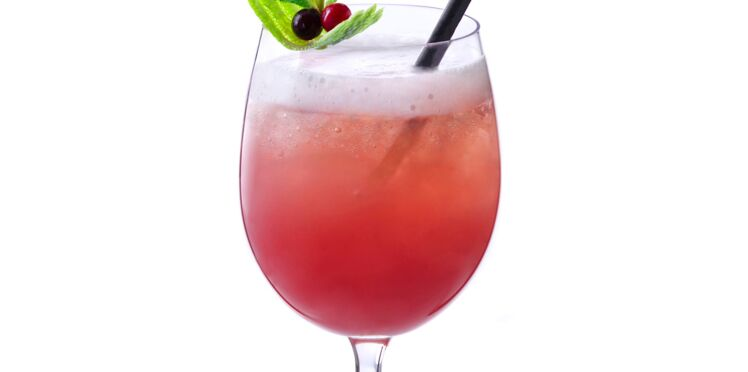 Cocktail guava fizz