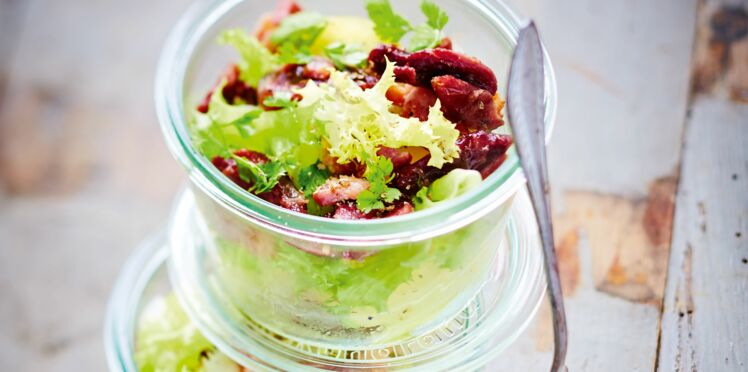 Salade aux gésiers confits de Laurent Mariotte