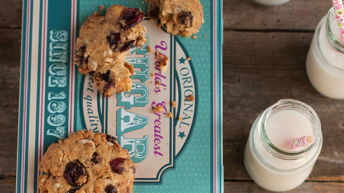 Cookies aux fruits sans sucre ajouté