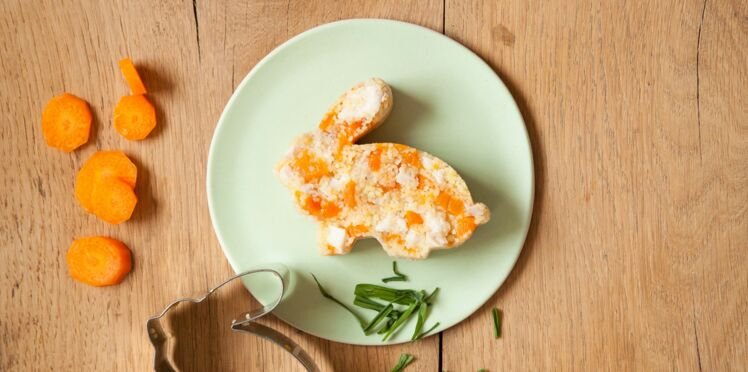 Recette pour chat : pâtée de lapin-carotte-semoule