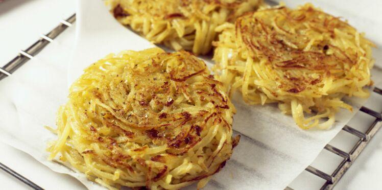 Paillassons de pommes de terre