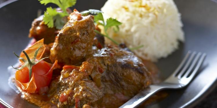Marmite de bœuf à l'indienne