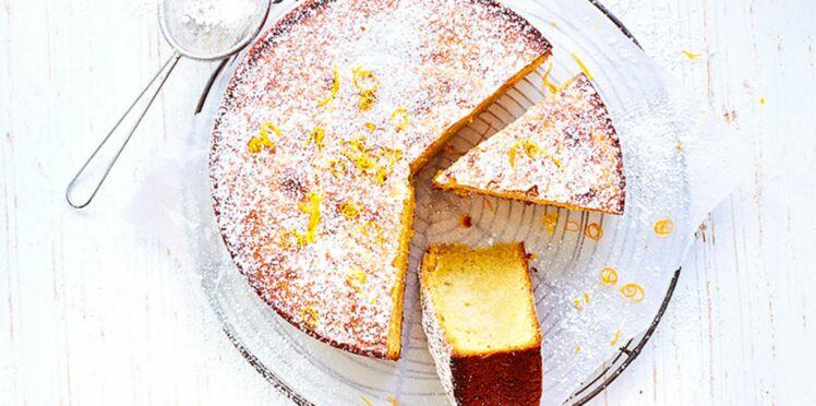 Santiago, le gâteau aux amandes et au citron