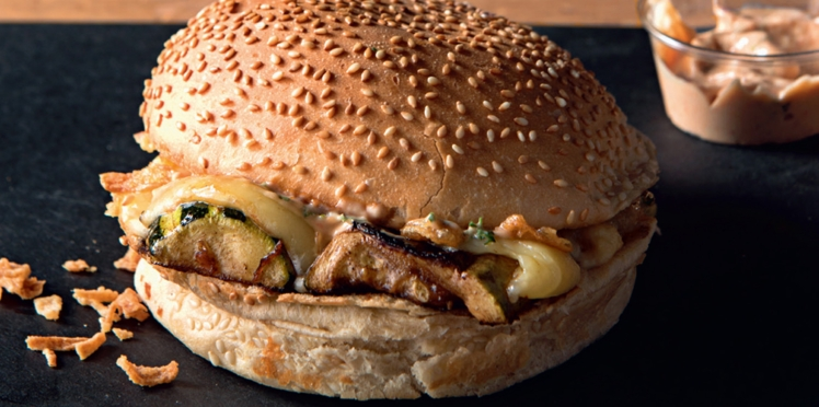 Claude burger veggie de Big Fernand