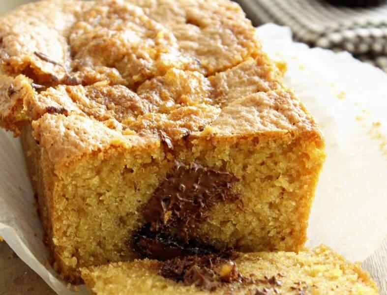 Gâteau yaourt et coeur coulant Nutella®