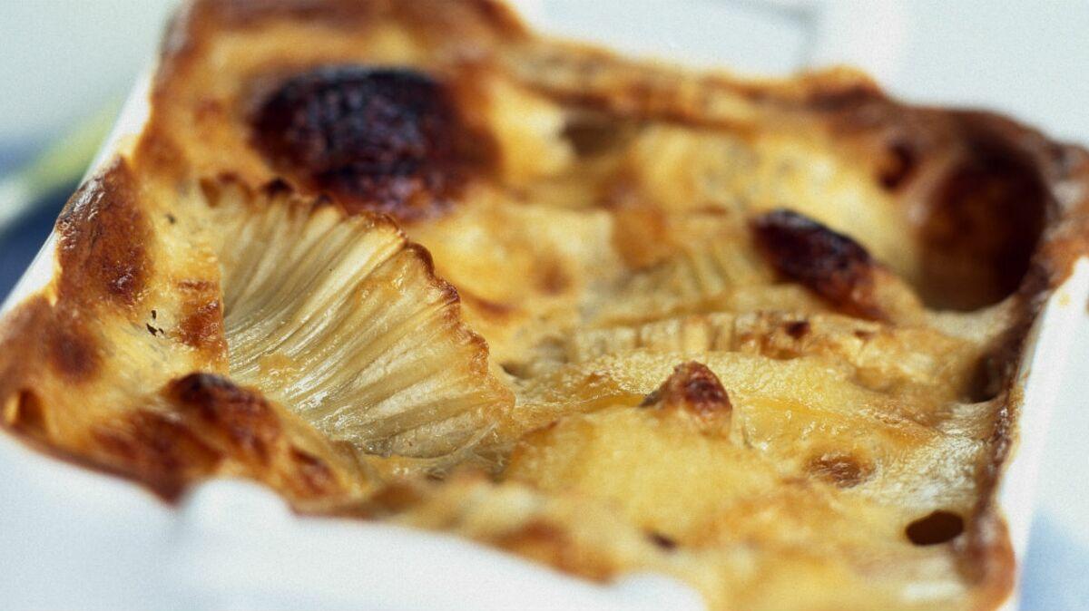 Clafoutis exotique à l'ananas