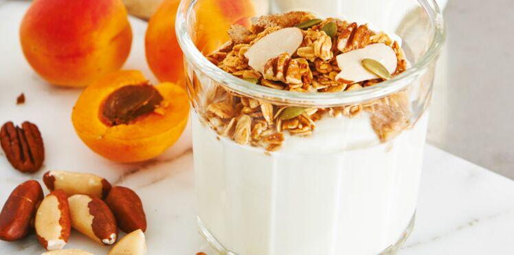 Muesli aux abricots et noix