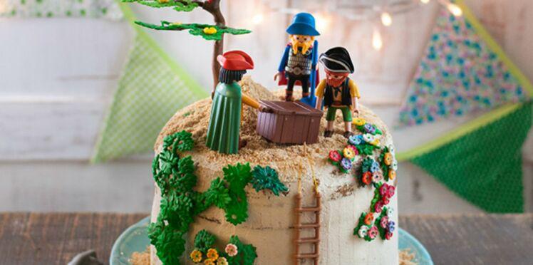 Gâteau Piñata « île au trésor »