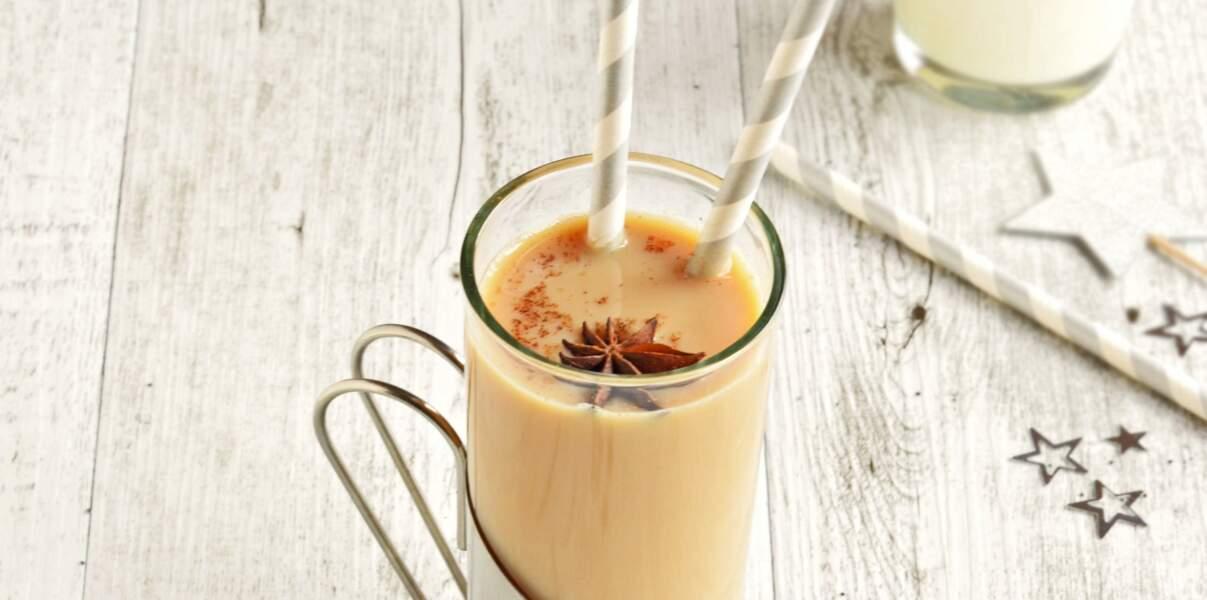 Thé chaï sans lactose à la vanille