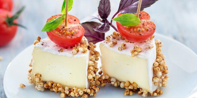 Quinoa soufflé et caramélisé au Mini-Caprice