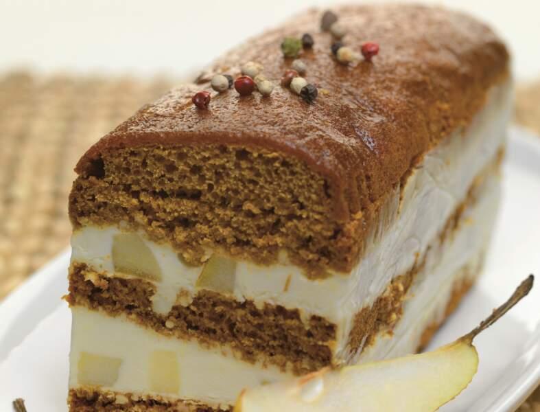 Terrine de pain d'épices aux poires et Reblochon de Savoie