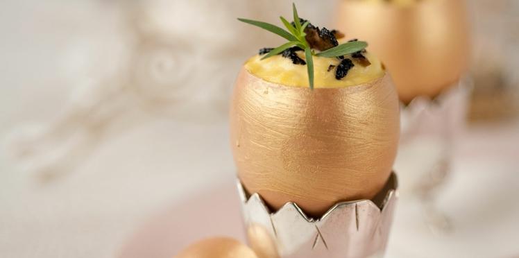 Brouillade d'œufs aux truffes