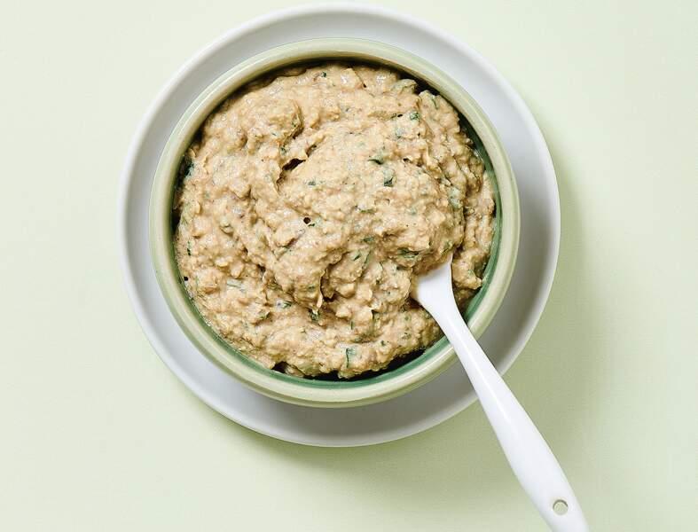 Rillette châtaignes et noix en 7 minutes