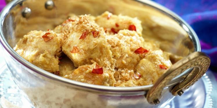 Poulet au curry facile et rapide