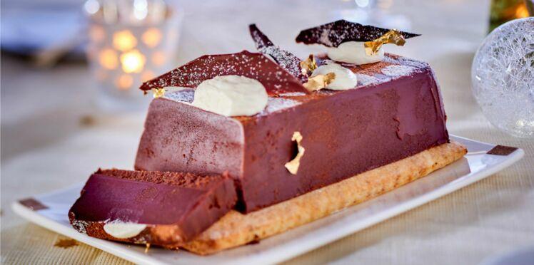 Lingot au chocolat et marrons de Philippe Etchebest