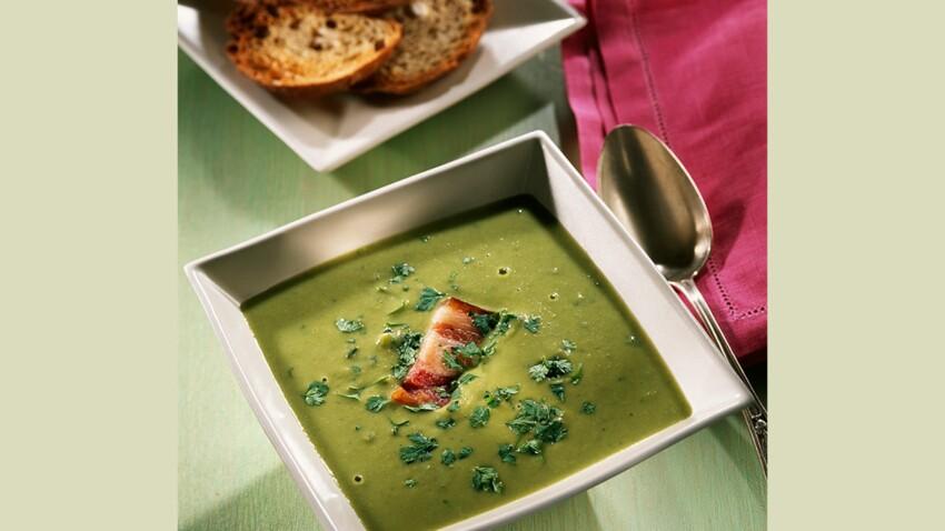 Soupe de fèves fraîches