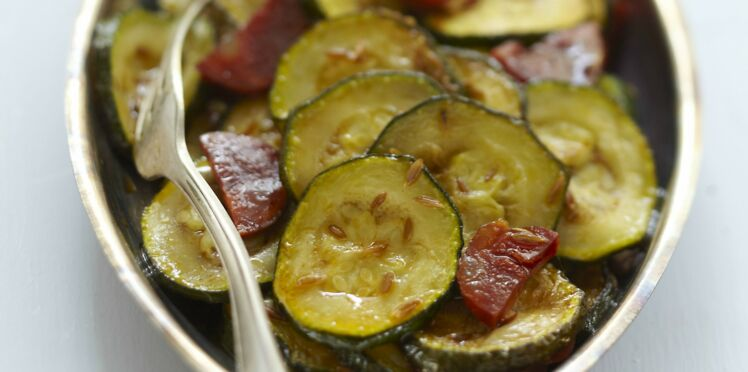Courgettes au Cookeo
