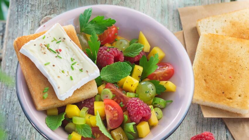 Nos recettes tendance de salades sucrées-salées vont vous rafraîchir cet été