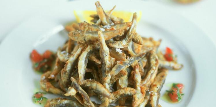 Blettes à l'ail et aux anchois