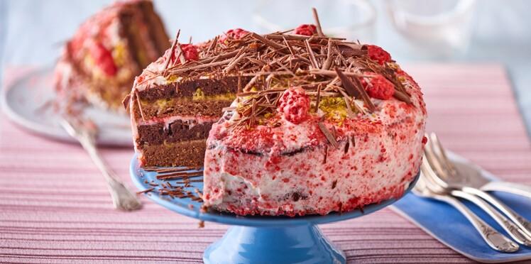 Layer cake ou gâteau à étages : nos recettes de gâteaux d'anniversaire aussi beaux que bons