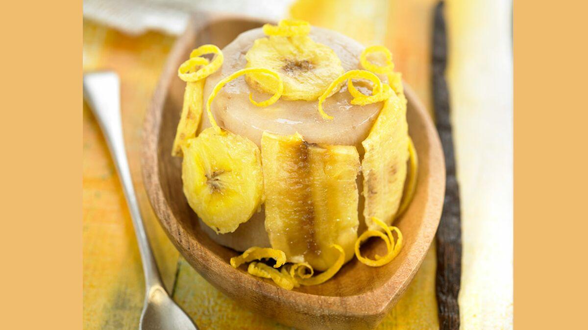 Flan à la banane