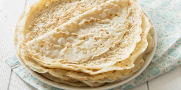 Recette de la pâte à crêpes sans lait
