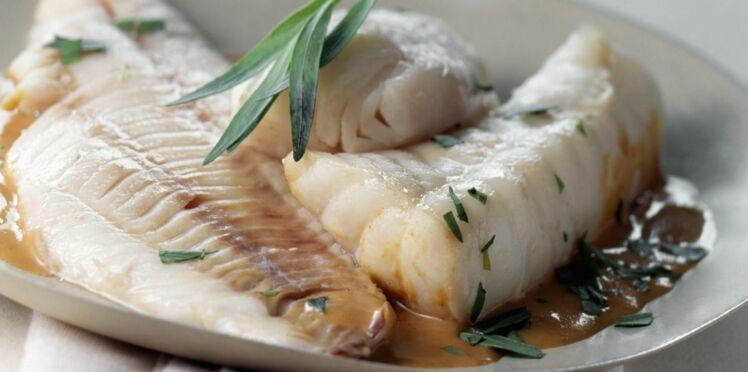 Tranches de poisson à la bisque de homard