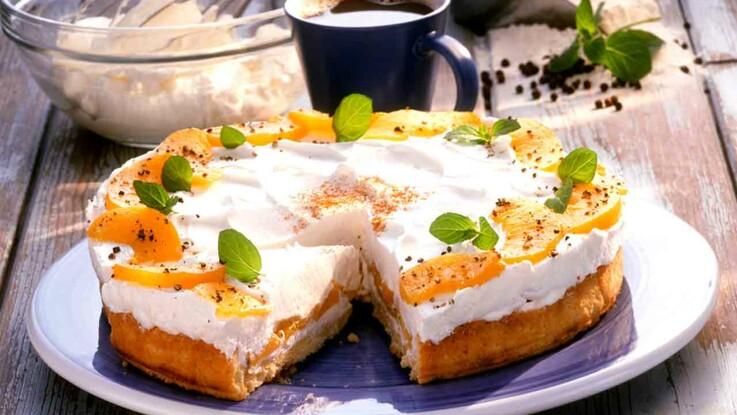 Tarte, crumble, gâteau : nos desserts à la pêche