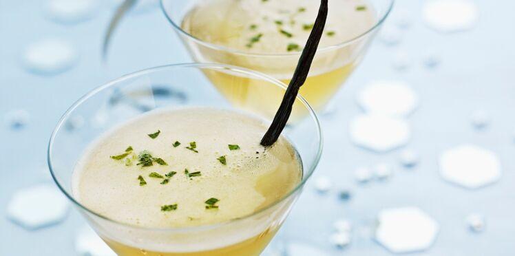 Cocktail de fête : mojito vanille-citron