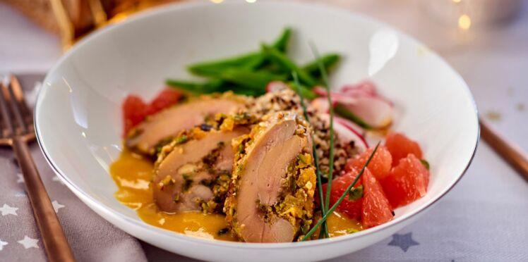 Foie gras poché au jus de clémentine de Philippe Etchebest