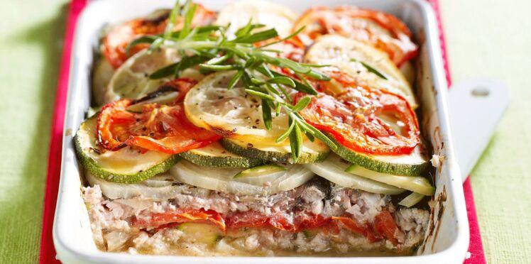 Tian de sardines aux herbes de Provence