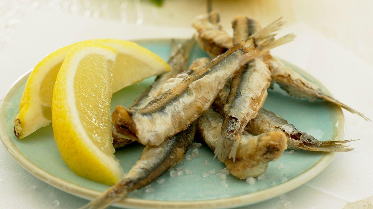 Sardines frites