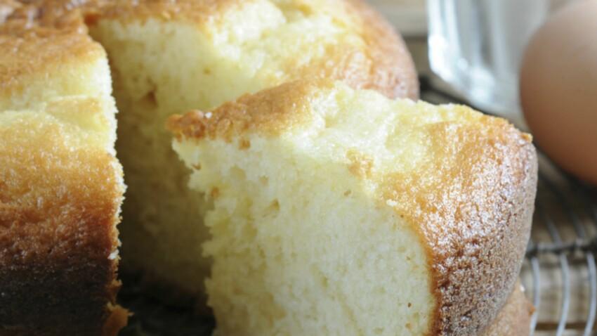 Gâteau avec 2 oeufs