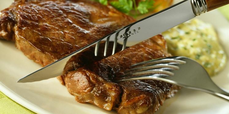 Faux filet sauce béarnaise
