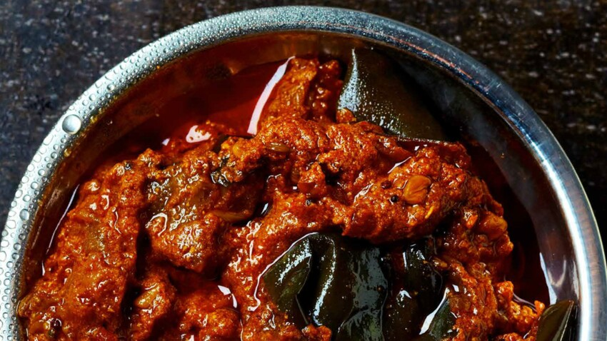 Curry d'aubergines (recette indienne)