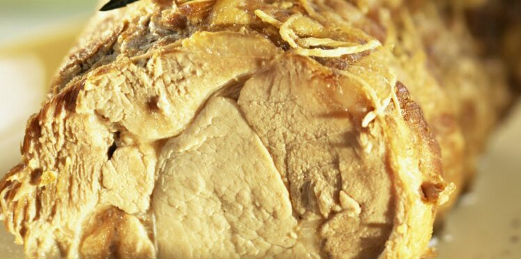 Rôti de porc au lait d'épices
