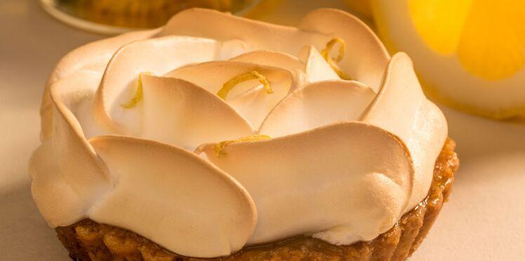 Tarte au citron meringuée à l'huile d'olive