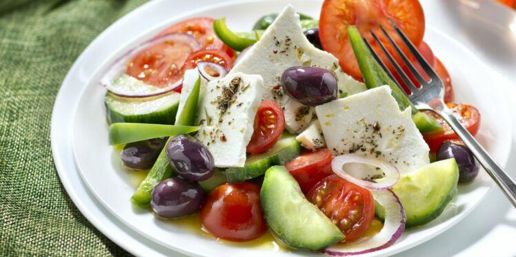 Salade de tomate et feta