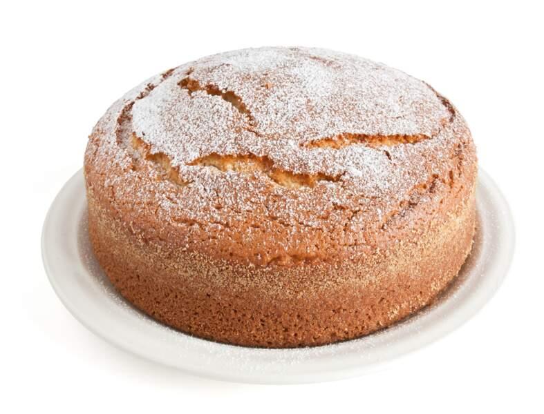 Gâteau au yaourt et aux pépites de chocolat blanc