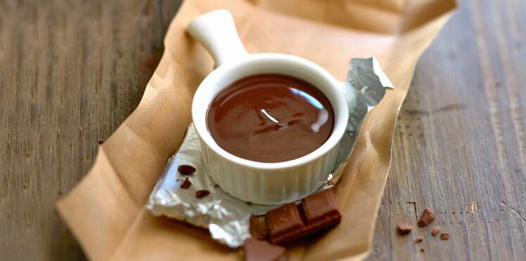 Crème au beurre au chocolat