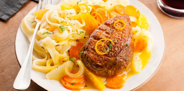 Cookeo : canard aux agrumes