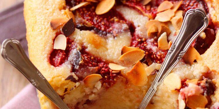 Gâteau de semoule aux figues