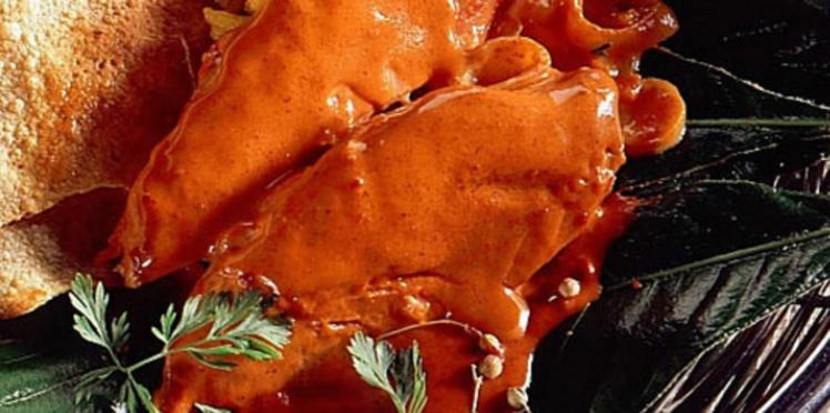Poulet tandoori rouge