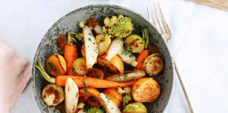 Poêlé de légumes croquants