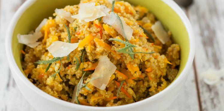 Quinoa au potimarron et à la sauge