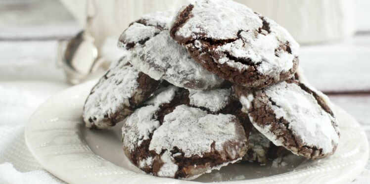 Cookies des neiges sans gluten