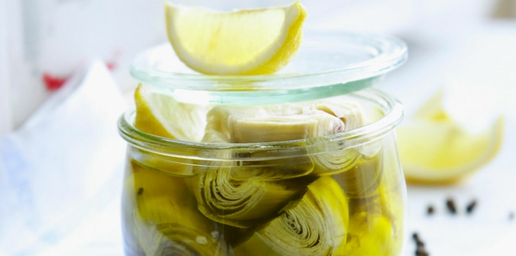 Artichauts poivrades à l'huile
