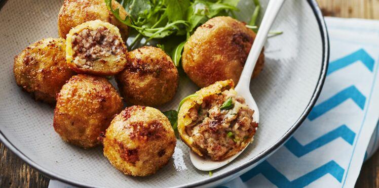 Croquettes de veau aux pommes de terre