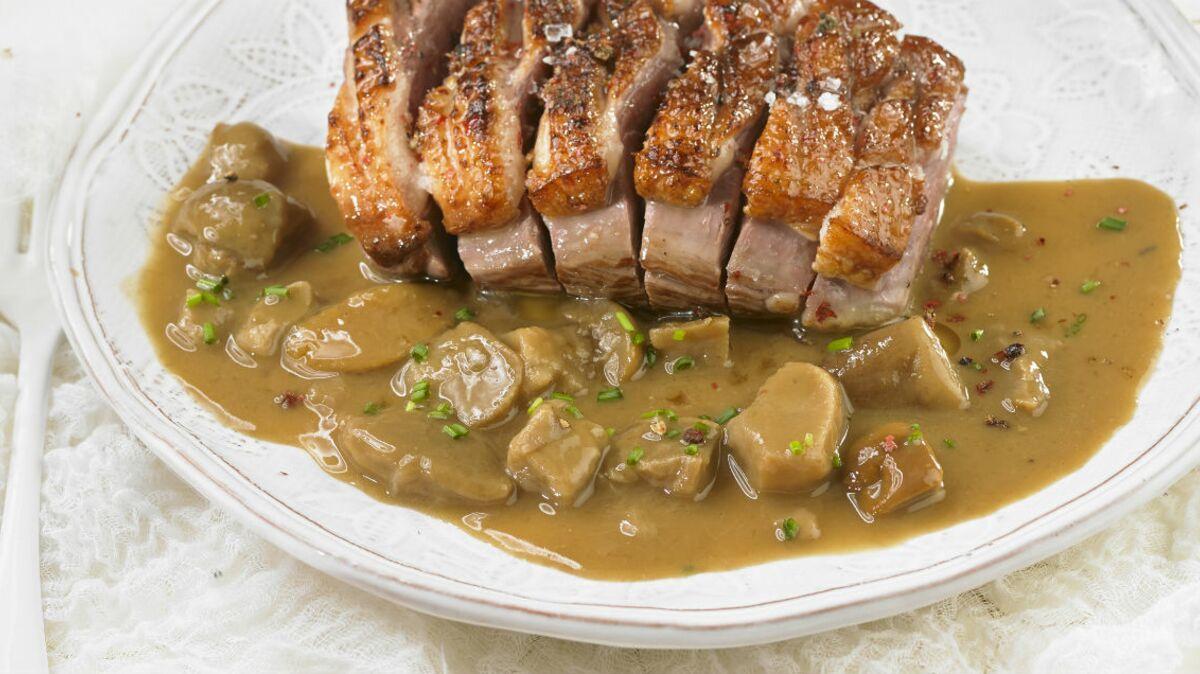 Sauce pour rôti de porc